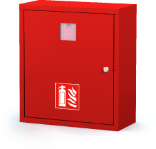 Interior cabinets for fire extinguishers 560 x 500 x 220