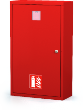 Interior cabinets for fire extinguishers 830 x 500 x 220
