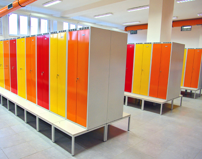 Garment Lockers for Evraz Vítkovice